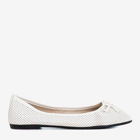 Белые детские балетки Lavisca - Обувь