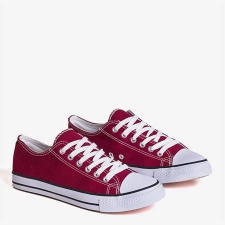 Бордовые мужские кроссовки Ronot - Обувь