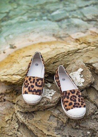 Женские эспадрильи с леопардовым узором Mirisa Fulton - Обувь