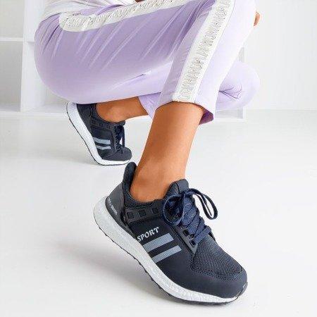 Обувь спортивная женская темно-синяя Birala - Обувь