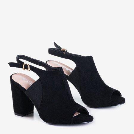 Сандалии на высоком каблуке Black Bartom - Обувь