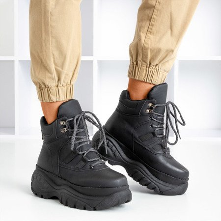 Черные ботинки в спортивном стиле Gapostia - Обувь
