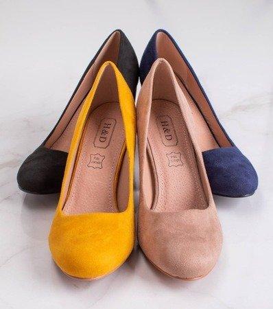 Черные туфли-лодочки на стойке Амель - Обувь