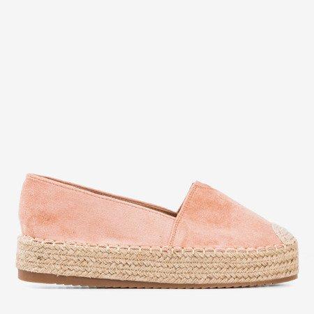 розовые эспадрильи на платформе Roseanne - Обувь