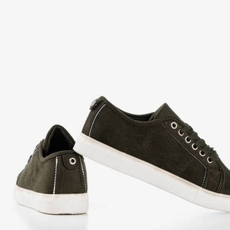Farte Green Eco Suede Sports Shoes - Обувь