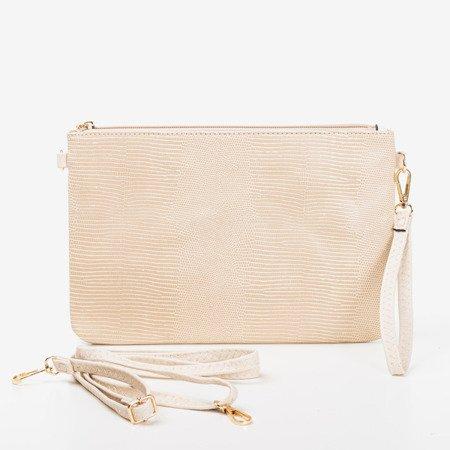 Szara mała torebka na ramię - Torebki