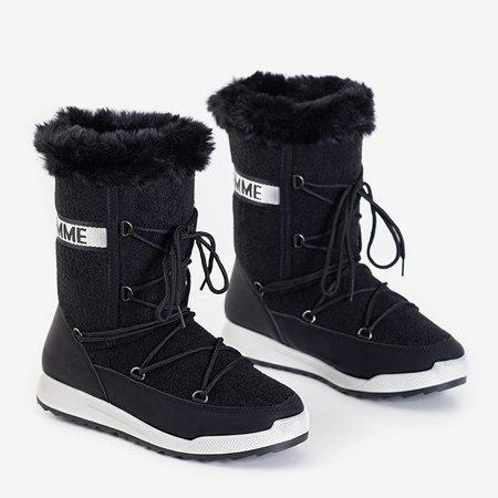 Женские утепленные зимние сапоги Columbita Black - Обувь