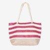 Пляжная сумка в красную полоску - Сумки