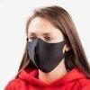 Черная однослойная маска для лица - Маски