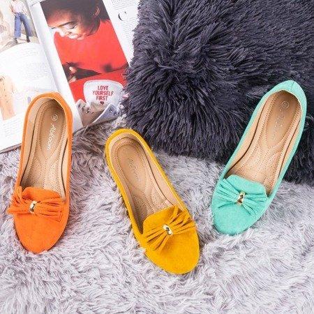 Балетки бірюзові з оздобленням Fralise - Взуття 1