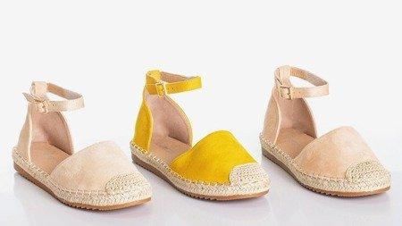 Бежеві жіночі еспадриси Leilane - Взуття 1