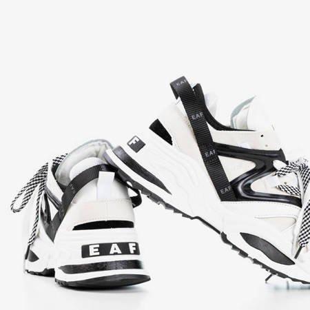 Бежеві жіночі кросівки з товстою підошвою Eafi - Взуття