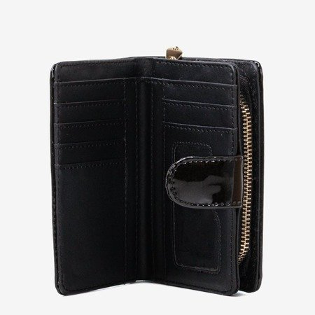 Бургундовий гаманець із шкірозамінника - Гаманець 1