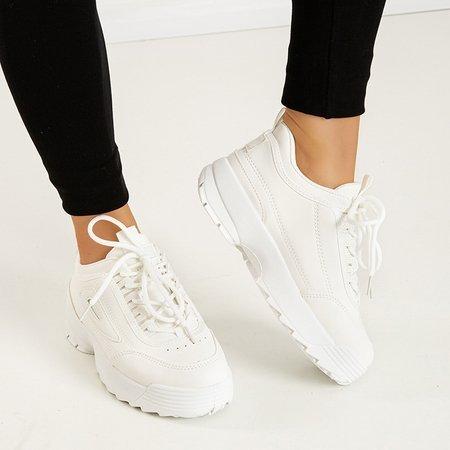 Біле жіноче спортивне взуття Момент - Взуття 1