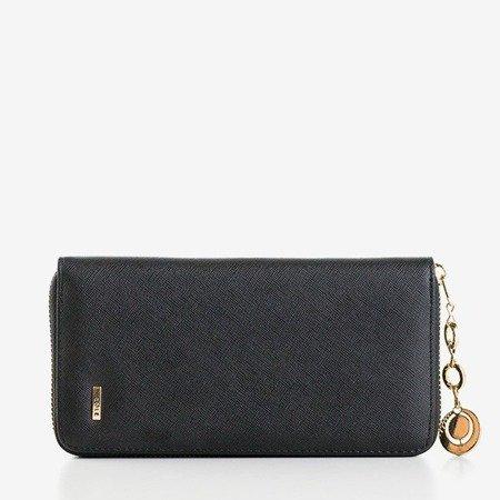Великий чорний гаманець для жінок - Гаманець