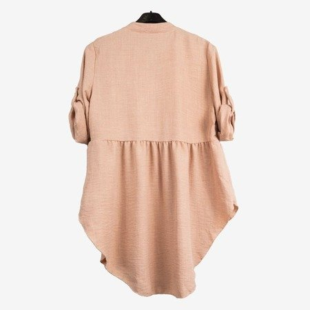 Дамська туніка в бежевому кольорі - Блузки 1