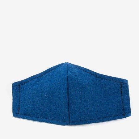 Дитяча темно-синя 3-шарова маска для обличчя - Маски