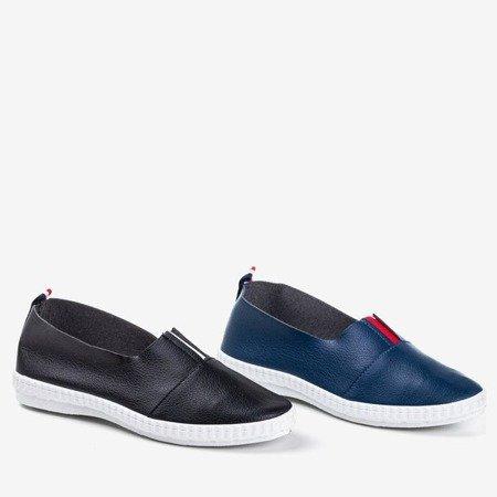 Еспадрилі з тюлю чорного кольору - Взуття 1