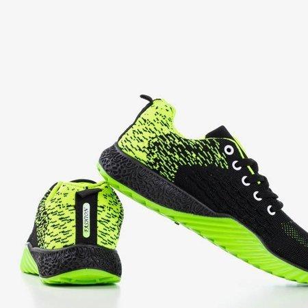 Жіноче спортивне взуття Fonto чорно-зелене - взуття
