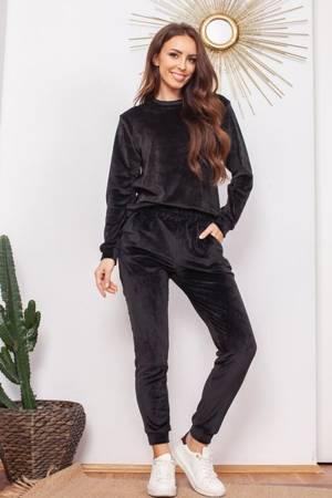 Жіночий чорний комплект спортивних костюмів - Одяг