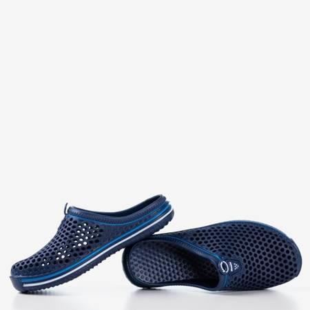 Жіночі темно-сині гумові тапочки Gumi - Взуття 1
