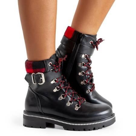 Жіночі чорні кльошені ткачі Juhye - взуття