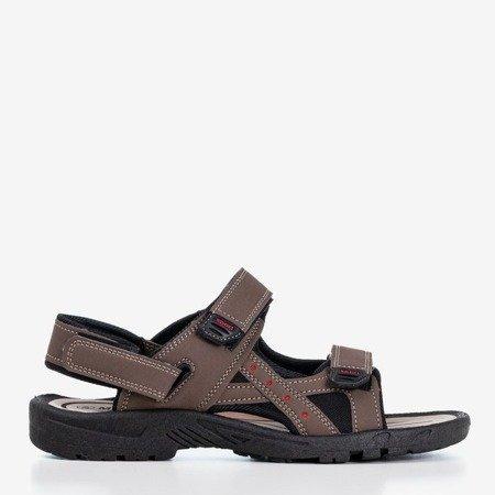 Коричневі чоловічі босоніжки Ludis sport - Взуття 1