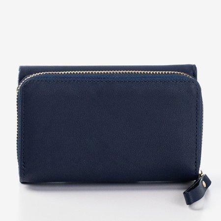Маленький темно-синій жіночий гаманець - Гаманець 1