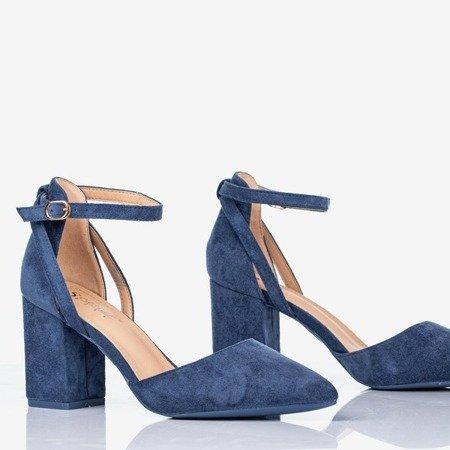 Сині насоси на високій посаді Час партії - Взуття 1