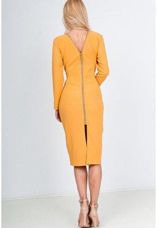 Сукня жовтого кольору - Одяг