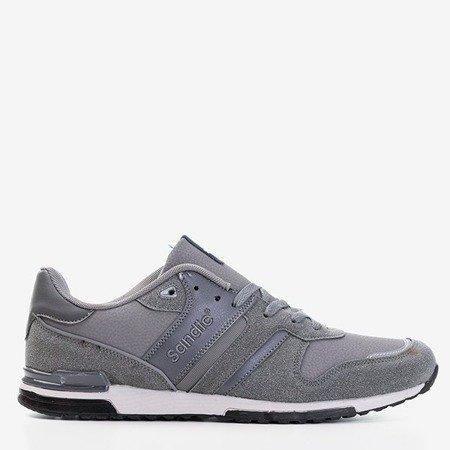 Сіре чоловіче спортивне взуття Mubert - Взуття