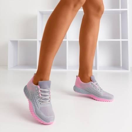 Сіро-рожеве жіноче спортивне взуття Fonto - Взуття 1