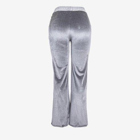 Сірі жіночі прямі штани - Штани 1