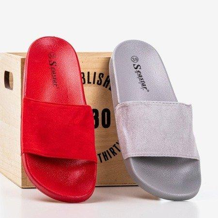 Червоні жіночі тапочки Nayail - Взуття