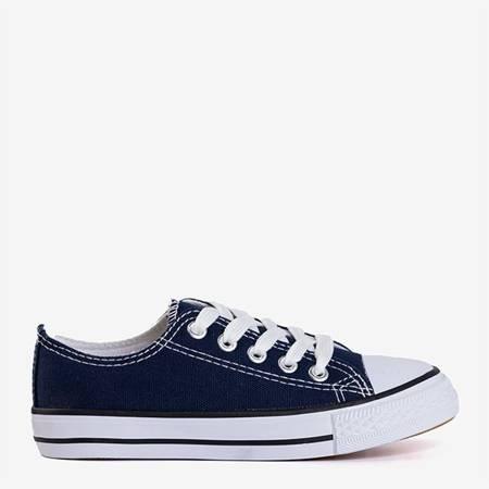 Чорно-сині чоловічі кеди Ronot - Взуття