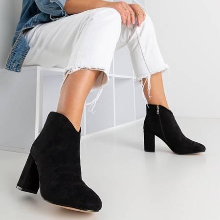 Чорні ботильйони на підборах  Ribera - Взуття