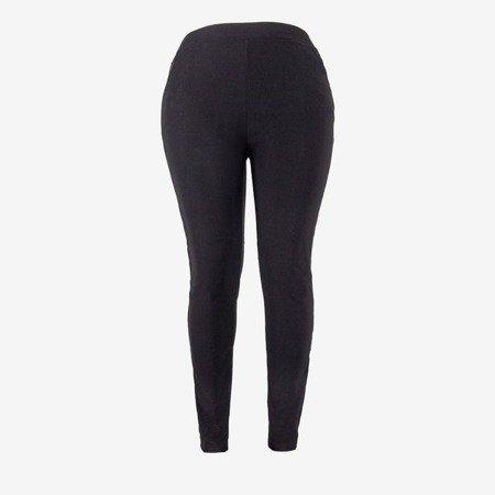 Чорні жіночі спортивні штани з смужками - Штани 1