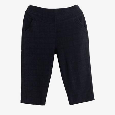 Чорні жіночі штани з високою талією - Одяг 1