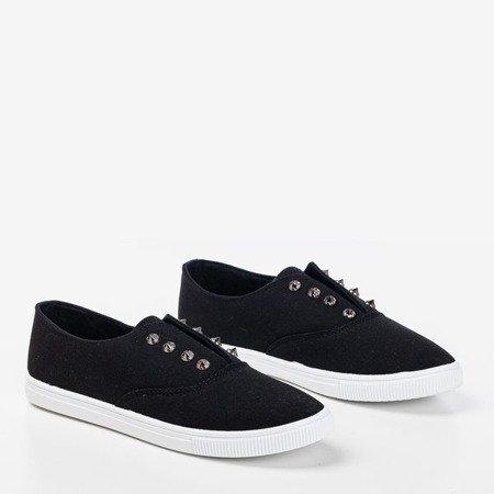 Чорні кросівки з шпильками Odila - Взуття 1