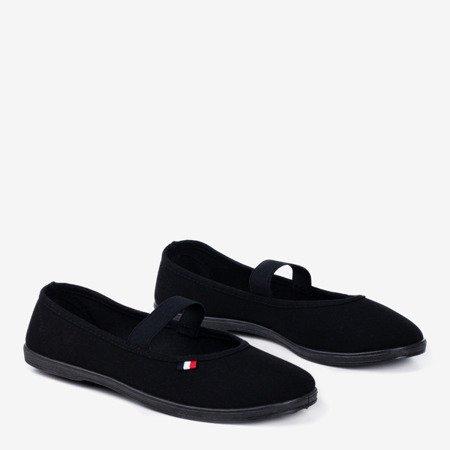 Чорні кросівки Pruna - чорні взуття - взуття 1