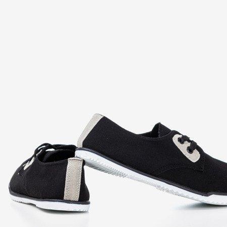 Чорні спортивні кросівки із вставками Zella - Взуття 1