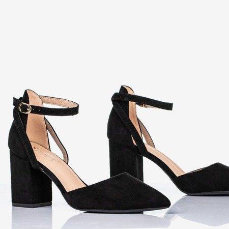 Чорні туфлі на вищій стійці Party Time - Взуття
