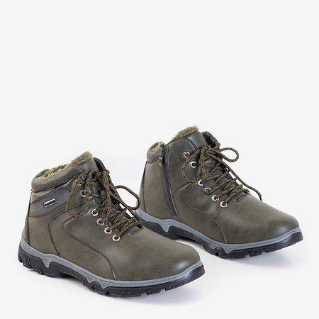 Чоловічі черевики-трапери в кольорі хакі Hurad - Взуття