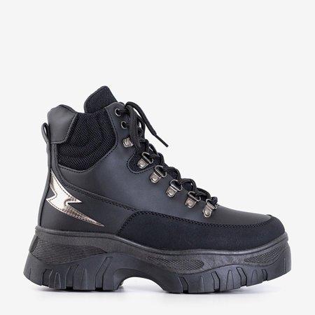 Чорне жіноче спортивне взуття  Froner - Взуття