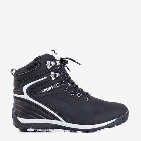 Чорні жіночі утеплені черевики Nister - Взуття