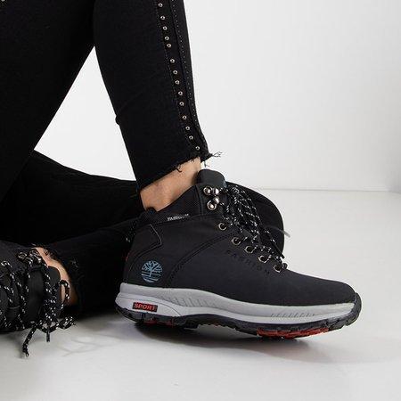 Чорні жіночі утеплені снігові черевики Emeralda - Взуття