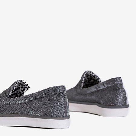 ВИХІД Срібні блискучі жіночі кросівки Sparkle Night - Взуття