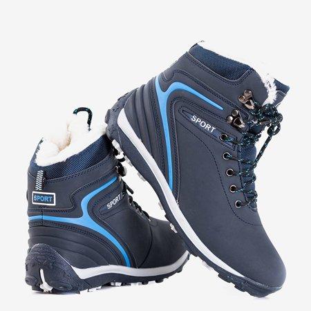 Жіночі темно-сині утеплені черевики Nister - Взуття