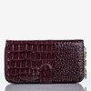 Великий фіолетовий гаманець зі штучної шкіри зі стьобаним покриттям - Гаманець