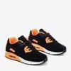 Чорне спортивне взуття з неоно-оранжевими вставками Mola - Взуття 1